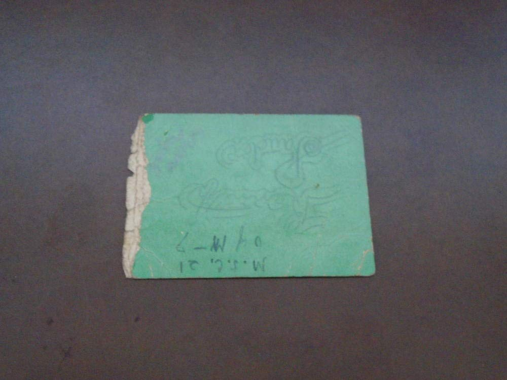 1936 MICHIGAN STATE AT MICHIGAN COLLEGE FOOTBALL TICKET STUB