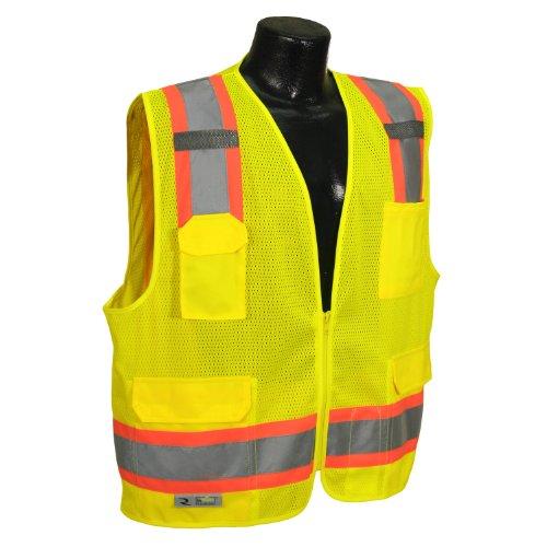 Radians SV6-2ZGM-L Industrial Safety - Safety Radwear Vest