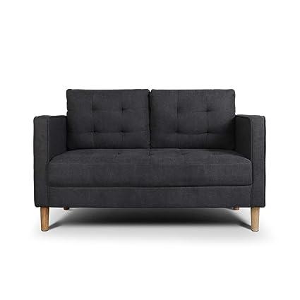Amazon.com: AODAILIHB Modern Soft Cloth Tufted Cushion Loveseat Sofa ...