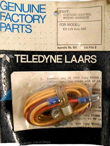 Teledyne Laars Jandy Pool Heater Wiring Harness Ignition Control, 598 ES 125-400