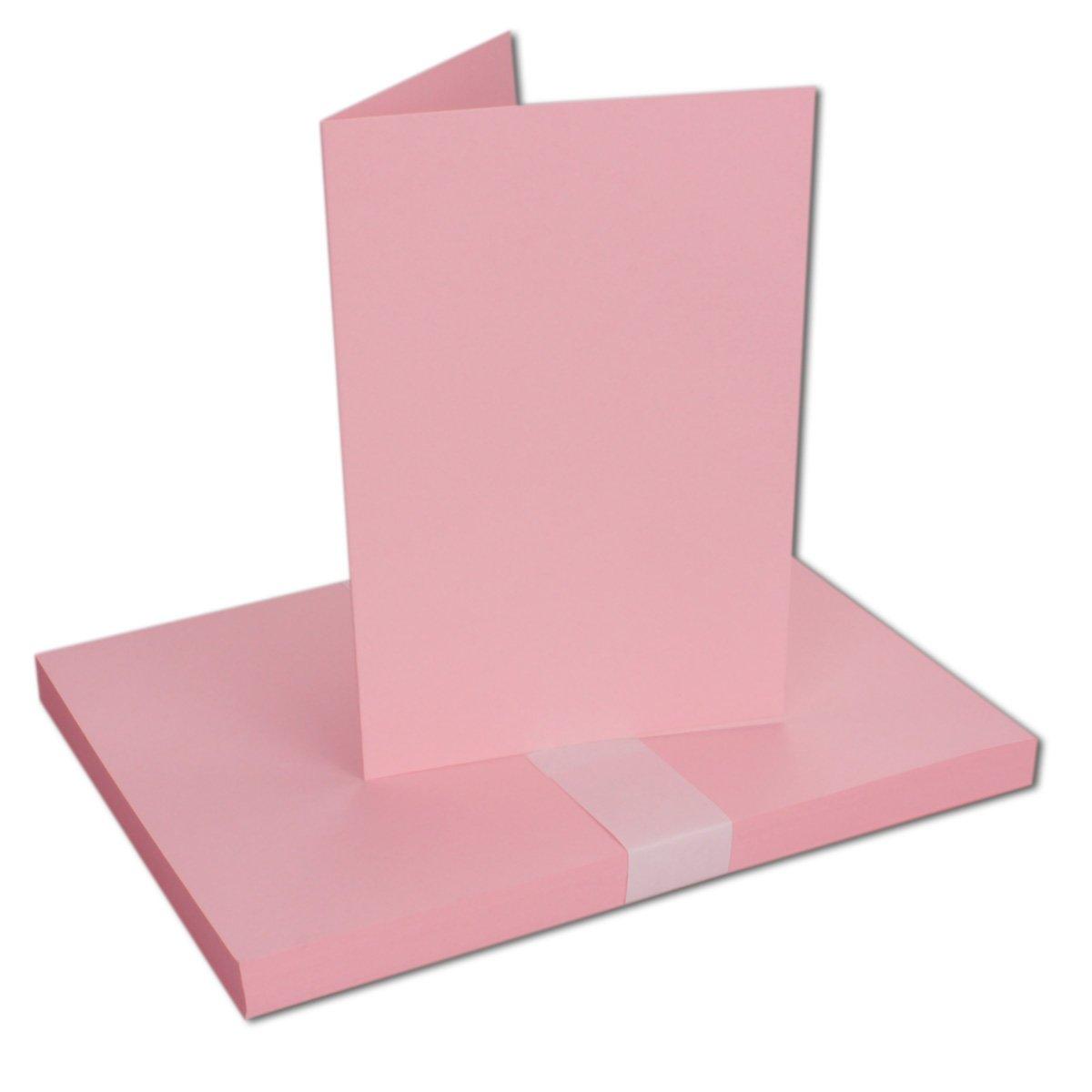 75 Sets - Faltkarten Hellgrau - Din A5  Umschläge Umschläge Umschläge Din C5 - Premium Qualität - Sehr formstabil - Qualitätsmarke  NEUSER FarbenFroh B07BSL8QBH | Verrückte Preis  70a2e3