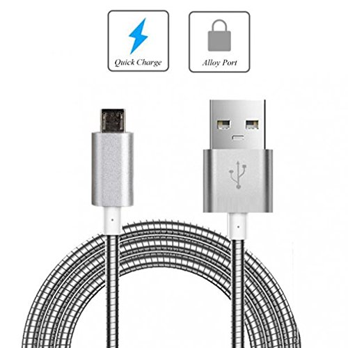 d USB Cable Charger Power Sync Wire Data Cord Micro-USB [Fast Charge Support] for at&T Nokia Lumia 1520 - at&T Nokia Lumia 520 - at&T Nokia Lumia 635 - at&T Nokia Lumia 830 ()