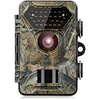 incoSKY Game Camera 1080P 12MP Trail Camera Wildlife Hunting Motion Activated 66FT Night Vision IP66 Waterproof 0.4s Fast Trigger with 2.4 TFT LCD Screen, DN4