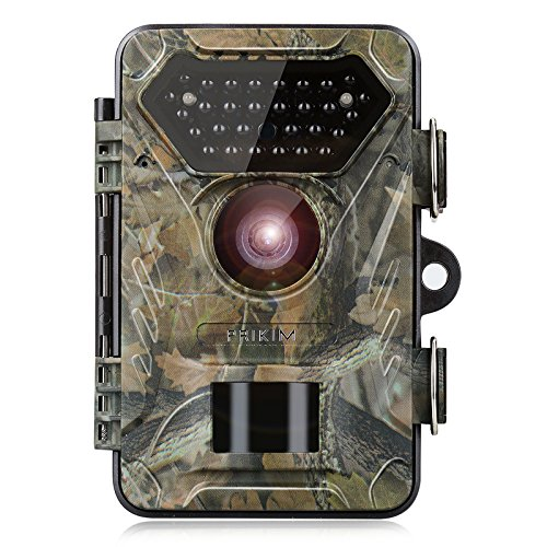Night Vision Trail Camera Wildlife Hunting Motion Activated 1080P 12MP 66FT Night Vision IP66 Waterproof 0.4s Fast Trigger with 2.4