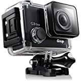 "SpyTec GitUp G3 Duo 2.0"" 2160P HD Compact Action Camera W/ 170 Deg Wide-Angle Lens 128GB Storage, G-Sensor Capabilities"