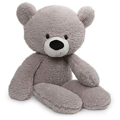 GUND Fuzzy Teddy Bear Stuffed Animal Plush, Grey, 24