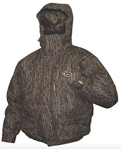 Drake Men's LST Eqwader 3 in 1 Plus 2 Waterproof Wader Coat 2.0, Mossy Oak Bottomland, XX-Large