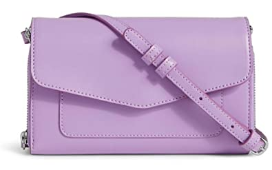 2f2d5a757 Image Unavailable. Image not available for. Color: Gorgeous Vera Bradley  Faux Leather Ultimate Crossbody Purse/Handbag Lilac