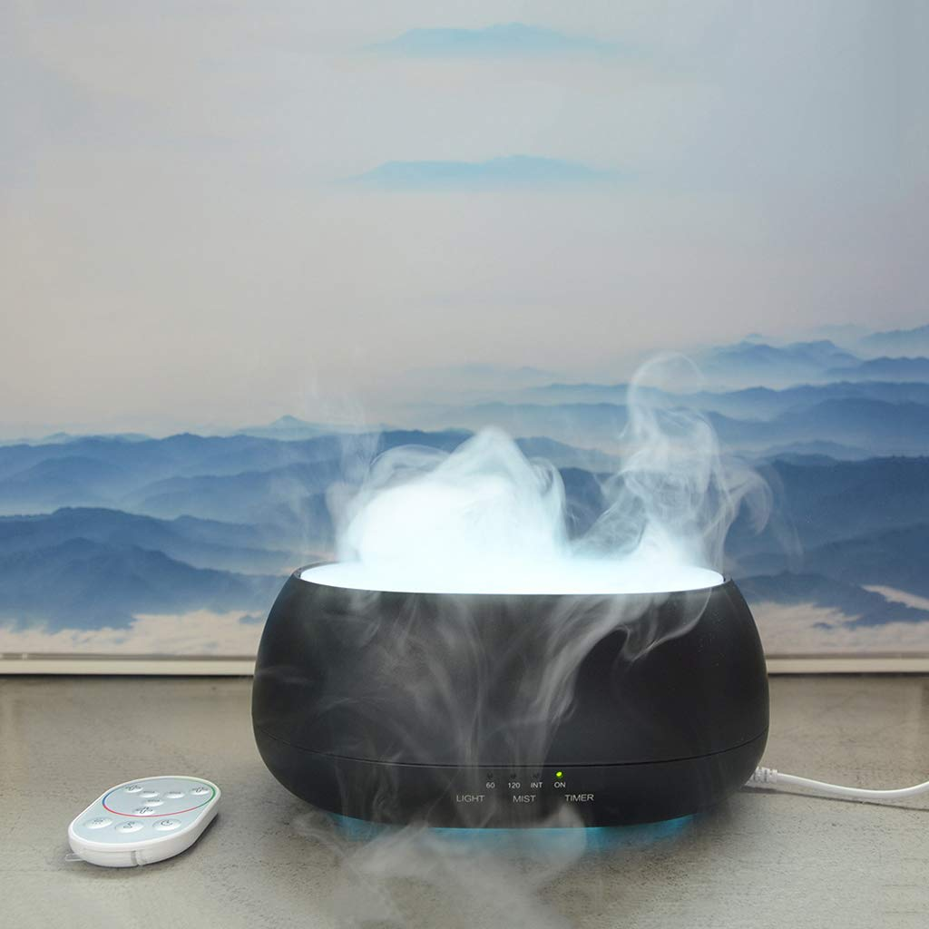 TYXCFR Yunhai Humidificador Inicio Máquina De Aromaterapia De Aire Inteligente Difusor Ultrasónico Instrumento Dispensador De Aerosoles,Black: Amazon.es: ...