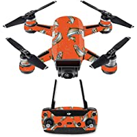 Skin for DJI Spark Mini Drone Combo - Trout Collage| MightySkins Protective, Durable, and Unique Vinyl Decal wrap cover | Easy To Apply, Remove, and Change Styles | Made in the USA