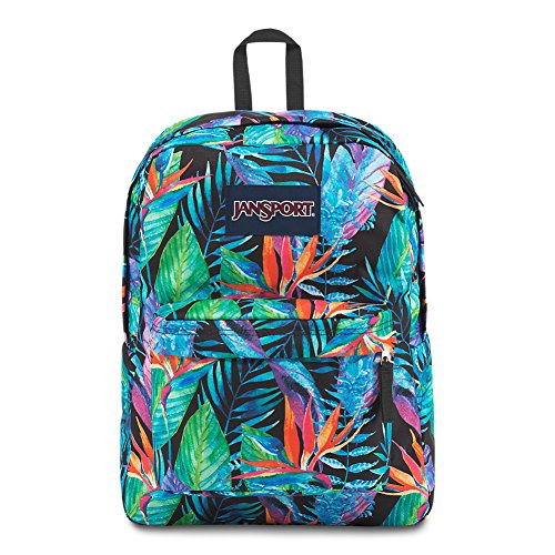 JanSport Superbreak Backpack - Vivid Paradise - Classic, Ultralight