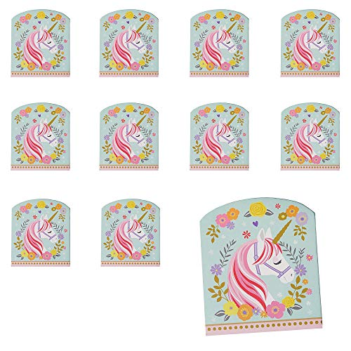 Party City Magical Unicorn Notepads 24 Count, Birthday Party Favors for Kids, 20 Pages Each, Paper]()