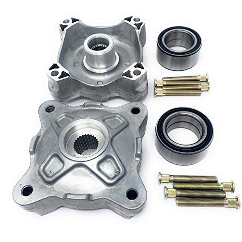 Iconic Racing Both Front Wheel Hub Service Kits Updated Version Left and Right Compatible With 08-14 Polaris RZR 800 / S 800