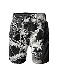 2017 New Summer Man Pirates Halloween Shorts