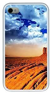 iphone 4 wholesale case Landscapes Rocks PC White for For Case HTC One M7 Cover