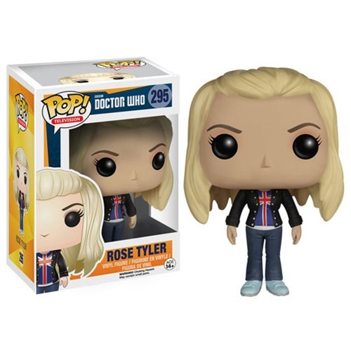 (Funko POP TV: Doctor Who - Rose Tyler Action Figure)