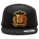 Dominican Republic Hat Snapback (Black/M.Gold)
