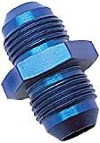 Russell 660350 Blue Anodized Aluminum -6AN Flare