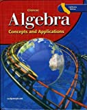 img - for Algebra Concepts and Applications California Edition book / textbook / text book