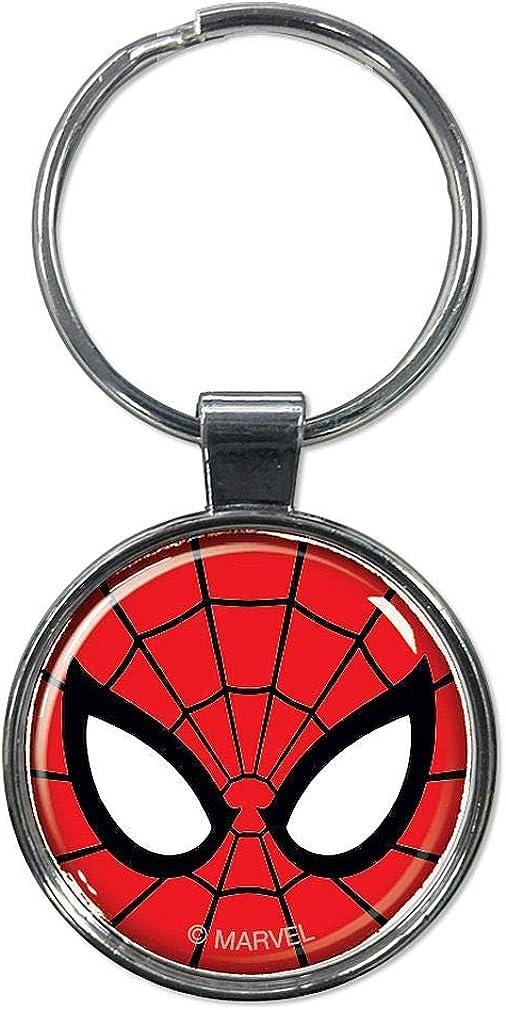 Marvel The Avengers Spider-Man Alloy Key Chains Keychain Keyfob Keyring
