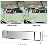 Black Frame Anti Blend vision auxiliary Angle Setting Wide Angle Flat Car Accessories Car Interior Blind Spot Mirrors for Car