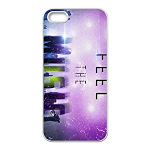 feel the music 2 iPhone 4 4s Cell Phone Case White gift pjz003-9360467