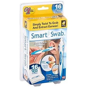 Smart Swab Spiral Ear Cleaner. Safe Ear Wax Removal Kit