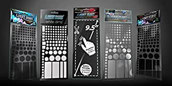 LightDims Variety Pack Get 5 of our 6 products in full retail packaging, Light Dimming Sheets