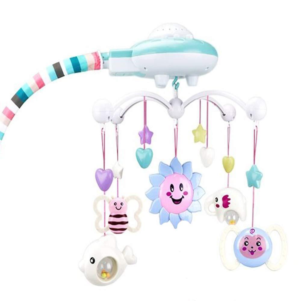 LZH Baby-Bettglocke 0-1 Jahre 3-6 Monate Männliche Und Weibliche Babyspielzeugmusik Drehende Puzzelgeklapper-Nachttischglocke B07KNS8MWR Kinderwagenspielzeug Großhandel | Exquisite (mittlere) Verarbeitung