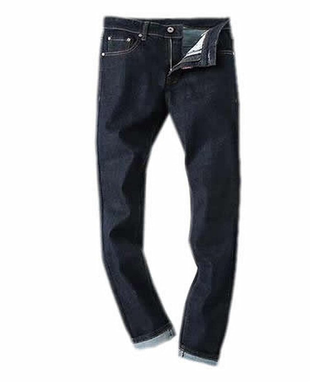 MLG Mens Fashion Classic Original-Fit Straight Jeans