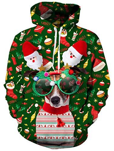 Funnycokid À Manteau Longues Tricot Et Garçons Unisexe Pulls Filles Veste Cardigans En Noël Chien Top Pour Bébé Nouveau Capuche Manches Costume né 0qwrzx0YH4
