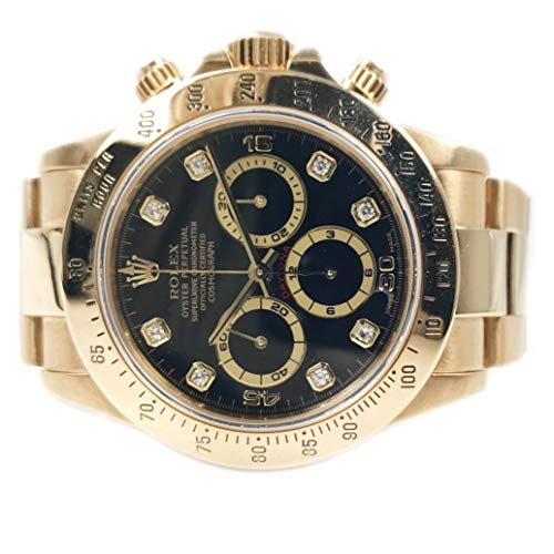 Rolex Oyster Perpetual'Zenith' Daytona 40MM 18KT Gold 16528 - Pre-Ow