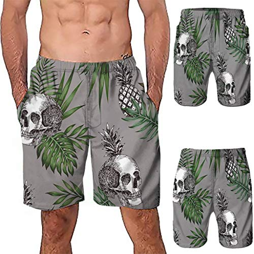 NUWFOR Men Casual 3D Graffiti Printed Beach Work Casual Men Short Trouser Shorts Pants(Z-Multi Color,US:M Waist9.9-33.9'') by NUWFOR (Image #1)