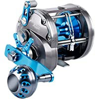 BURNING SHARK Trolling Reel Saltwater Level Wind Reels,...