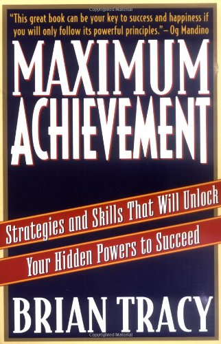 Maximum Achievement Strategies Skills Succeed product image