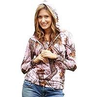 165ce75d1c4 Pink Camo Mossy Oak Hoodie Tee Juniors Plus   Regular Poly Jersey Hooded  Top S-