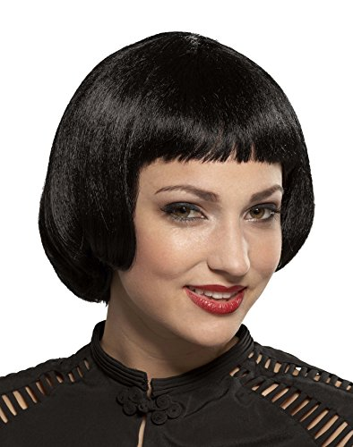 UHC Roaring 20's Style Sassy Flapper Wig Halloween Adult Costume Accessory