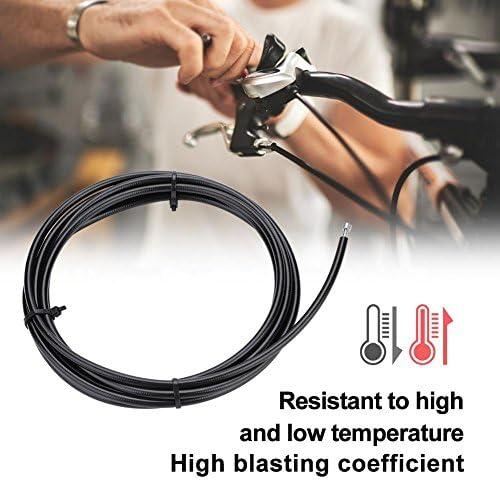 Flessibile per Bicicletta Inserto Verde Oliva per Shimano BH90 BH59 10 Set di Oliva e Inserto connettore Flessibile del Freno a Disco Idraulico Cocoarm Flessibile per Bicicletta Inserto Verde Oliva