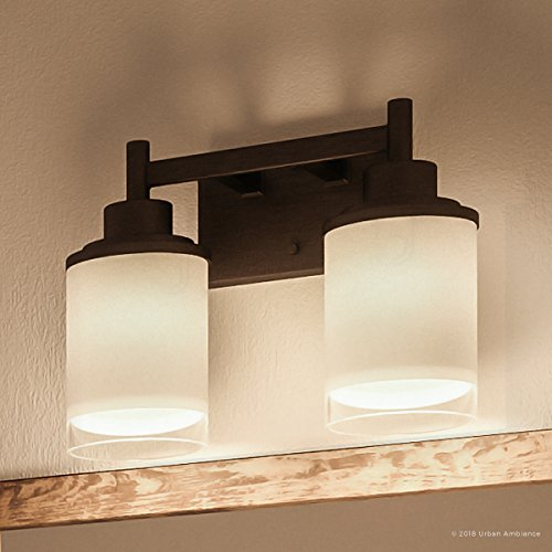 (Luxury Contemporary Bathroom Vanity Light, Medium Size: 9.5