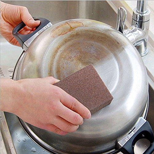 Xelparucoutdoor /Éponge de cuisine sans go/ût Nano rouille /émeri magique pour nettoyer le four