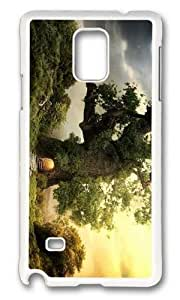 Adorable fantasy house tree Hard Case Protective Shell Cell Phone Samsung Galasy S3 I9300 - PC White