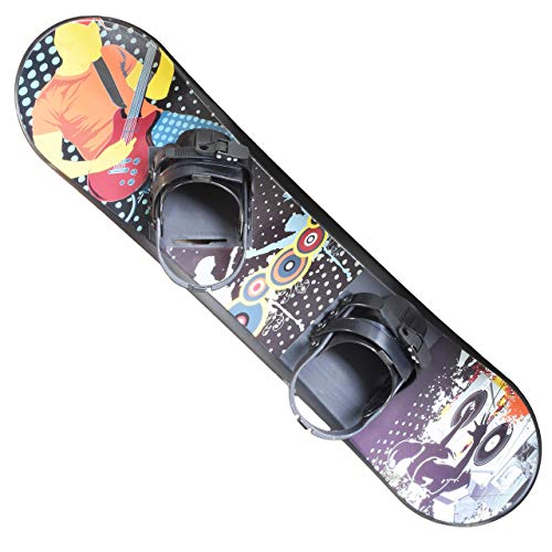 Vive Live - Snowboard - Great for Beginners - for Kids Ages 5-15 - Solid Core Construction- 95 cm (Renewed)