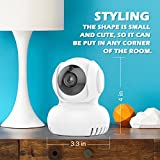 Baby Monitor, i-Star Wireless IP Camera - Alexa Enabled, 720P Digital Home Security Camera, Built-in Lullaby, Room Temperature Alert, Night Vision, Works with Both Android & IOS