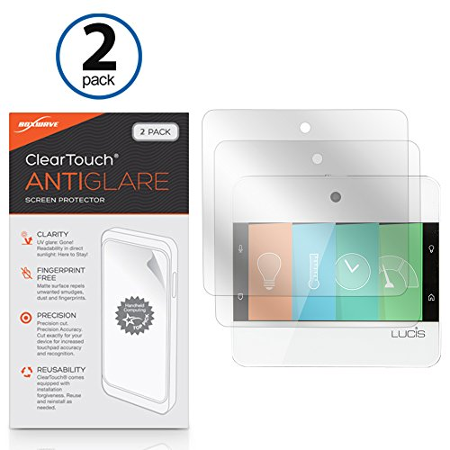 NuBryte Touchpoint Screen Protector, BoxWave [ClearTouch Anti-Glare (2-Pack)] Anti-Fingerprint Matte Film Skin for NuBryte Touchpoint