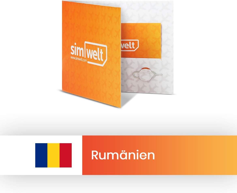 Mapa mundial de SIM con conexión a Internet de Rumanía.: Amazon.es: Electrónica