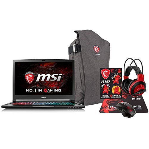 MSI GS73VR STEALTH PRO-225 Enthusiast (i7-7700HQ 32GB RAM 500GB NVMe SSD + 2TB HDD NVIDIA GTX 1060 6GB 17.3