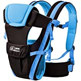 2016 Updated 0-30 Months Multifunction Front Facing Baby Carrier Infant Sling Backpack Pouch Wrap Baby Kangaroo With Waist Belt (Blue Color)