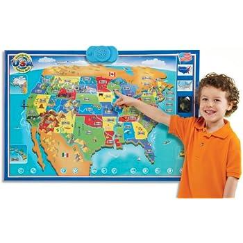 This Item Zanzoon Interactive Map Usa English