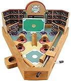 Wooden Baseball Pinball Game
