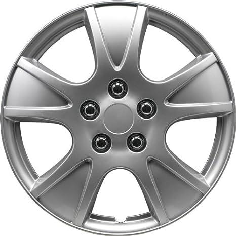Autostyle KT-990-S/L Set Illinois cquer - Tapacubos (4 unidades